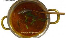 Achari Lamb or Achari Meat