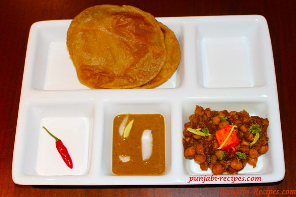 Punjabi Choley Poori