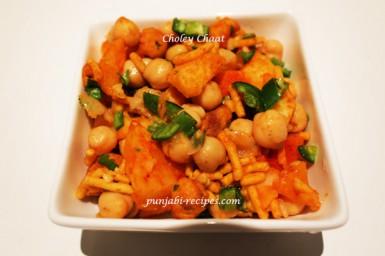 Authentic punjabi recipes punjabi recipes restaurant quality chole chaat forumfinder Choice Image