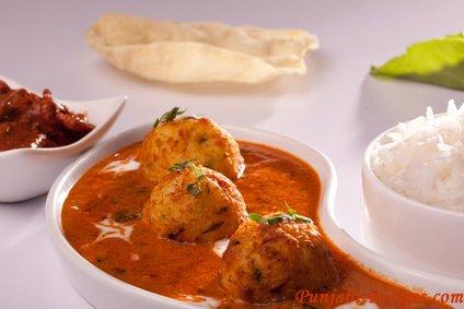 Punjabi Style Dam Aloo or Dum Alloo