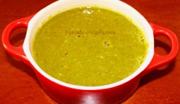Hot Green Chilli Chutney