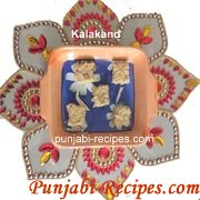 Kalakand Recipe by Punjabi-Recipes.com