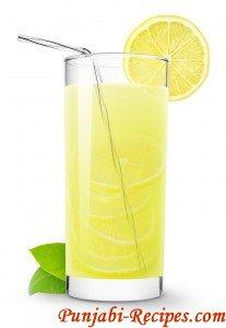 Nimbu Squash ( Tangy Lemon Drink)