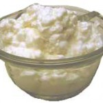 Home made Butter (Makhan) from Buffalo Milk has white colour
