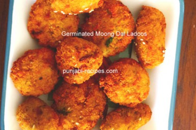 Healthy Germinated Moon Dal  Ladoo