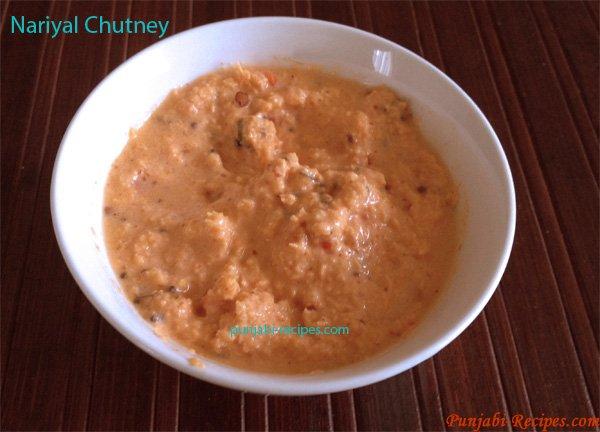 Nariyal Chutney – Coconut Chutney
