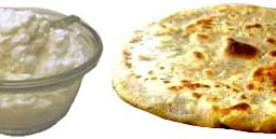 Paneer Parantha – Parantha stuffed with Grated Cottage Cheese