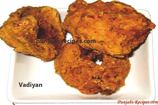 Punjabi Vadiyan or Badiyan