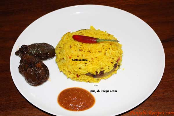 Saffron Rice or Yellow Rice