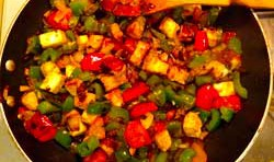 Chilli Paneer or Shimla Mirch And Paneer